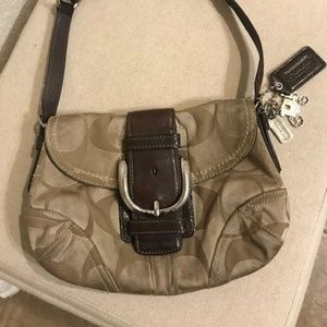 Coach Bag w Key Chains